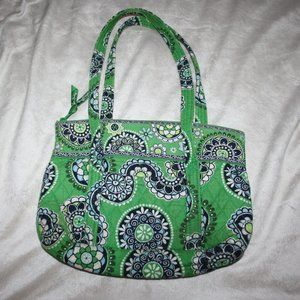 Green Paisley Quilted Purse Vera Bradley